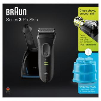 Braun Rasierer Series 3 Pro Skin 3050VS Wet&Dry