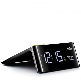 Braun LED-Wecker BNC016 schwarz